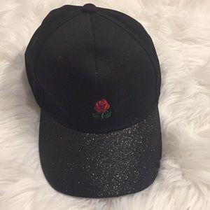 Rose Sparkle Cap